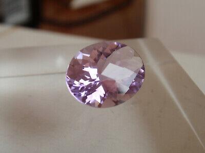 Faceted loose natural Rose De France Amethyst 4 mm square 0.30 ct Reiki