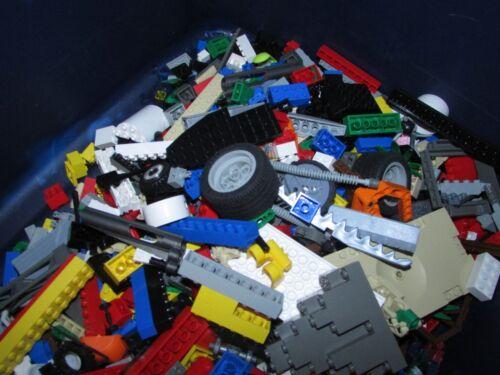 5 Pounds Lego Lot bricks pieces /& part bricks tile BONUS 5 mini-figs 100/%
