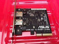 Asus Usb 3.1 Card 2 Port Blue , 100% Original