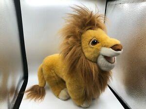 Authentic-The-Lion-King-Mattel-1993-Mufasa-Disney-Plush-Stuffed-Toy-Animal-Doll