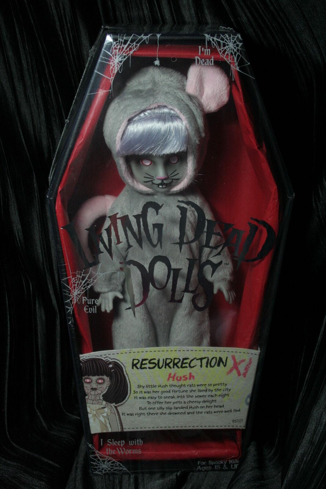 Living Dead Dolls resurrección Hush variante res serie 11 Rata Nuevo Ldd sullentoys