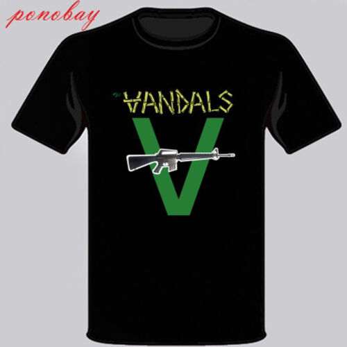 New The Vandals Punk Rock Band Music Men/'s Black T-Shirt Size S M L XL 2X 3XL