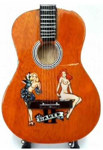 UK SELLER Golden Earring Tribute Miniature Guitar Radar Love
