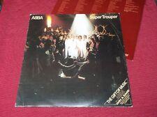 ABBA:  Super Trouper  Orig UK 1980  first pressing  LP  A1/B1  DEMO  EX+