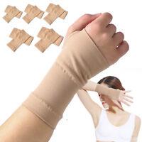 Pair Hand Wrist Thumb Carpal Tunnel Support Gloves Arthritis Sprain Strain Brace
