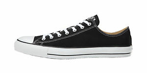 CONVERSE-All-Star-Low-Top-Chuck-Taylor-Shoes-Black-White-Men-Size-M9166
