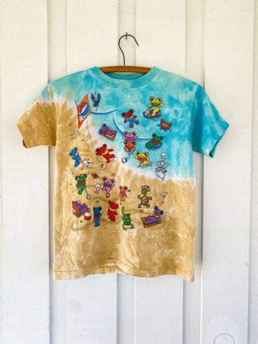 Vintage 1999 Liquid Blue Grateful Dead Tshirt