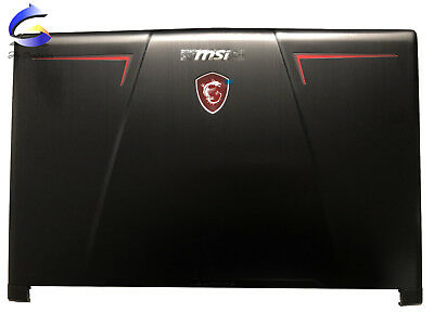 New MSI GP73 LEOPARD 8RD GP73 LEOPARD 8RE Top Case LCD Back Cover Rear Cover