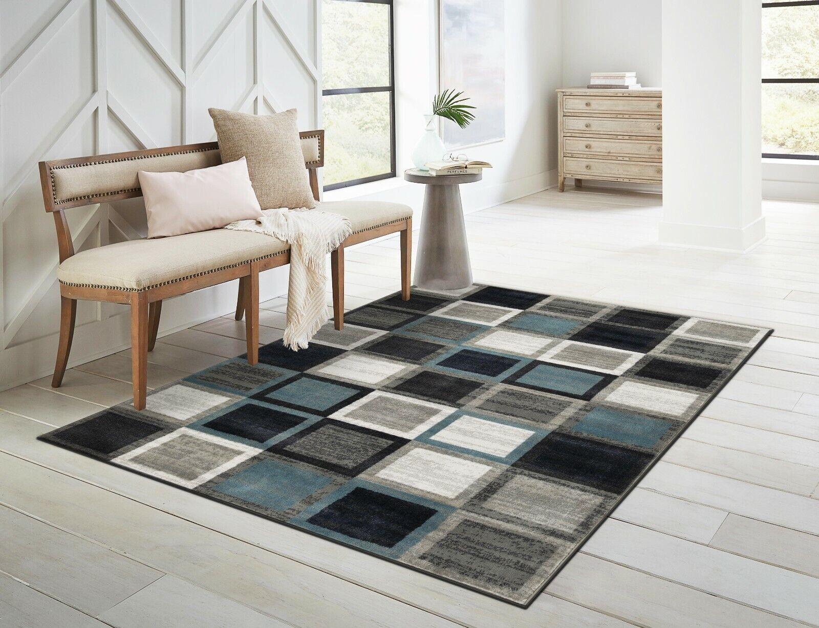 Beige Area Rug For Bedroom Kitchen Dining Living Room Modern Design 5 X7 For Sale Online Ebay