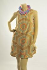 Manish Arora Pure Silk Appliqué Tunic Dress Anthropologie Size Medium 10-12