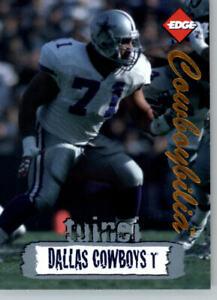 1996 Collectors Edge Cowboybilia SN 01381/10000 #Q-9 Mark Tuinei- Cowboys