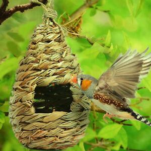 Bird Nest Breeding Bird Box Wild Grass Weave Canary Finch Budgie House Gourd
