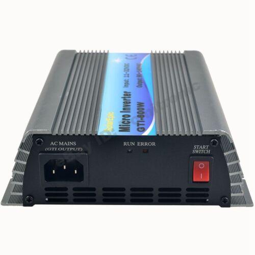 600W Grid Tie Inverter 110V Pure Sine Wave Inverter Use For 18V or 24V//36V Panel