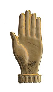 Open Hand Raised Gilded Symbol For Orange Order Collarette
