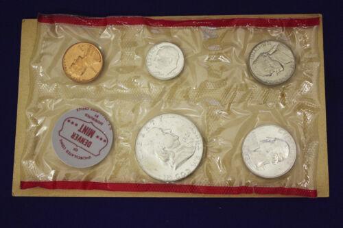 "Mint Set Complete and original 1961 Official U.S 10 coins Both /""P/"" /& /""D/"""