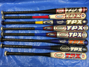 Details about Louisville Slugger TPX Baseball Bats Aluminum Alloy or  Composite Youth
