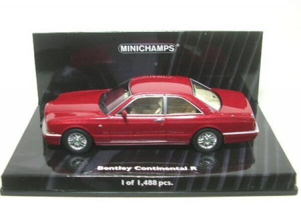 Bentley Continental r (rouge) 1996