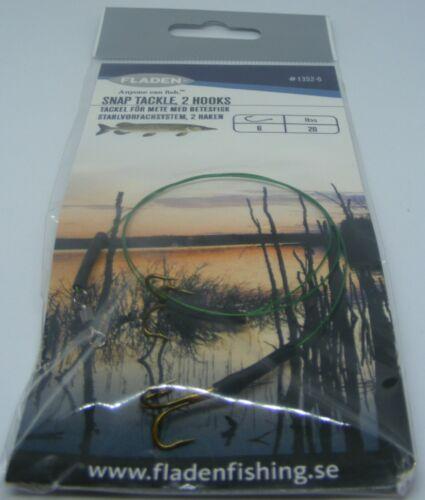Fladen Treble Hooks Size 6 Pike Fishing