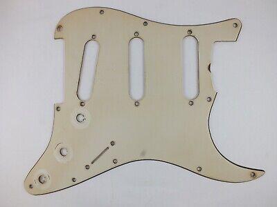 VINTAGE CORRECT Red//Black TORTOISESHELL SSS Pickguard for 1964 USA Stratocaster