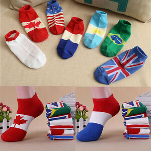 Men-Fashion-New-Ankle-Socks-Low-Cut-Crew-Casual-Sport-Color-Cotton-Socks