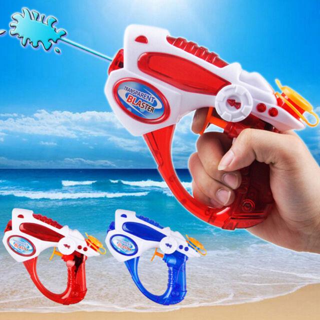 Summer Water Gun Toys Kids Outdoor Beach Long Range Water Gun Pistol Toy AU.