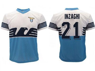 Trikot Lazio Rom Inzaghi 19 Offizielles Produkt SS Home Adler Simone 21 Trainer
