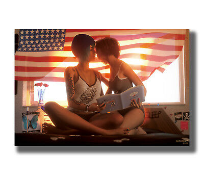 Life Is Strange New Game Fabric Poster Art TY90-20x30 24x36 Inch