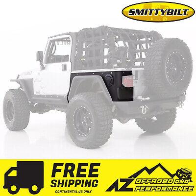 Smittybilt 1997-06 Fits Jeep Wrangler TJ LJ XRC Rear Corner Guards BLK Textured