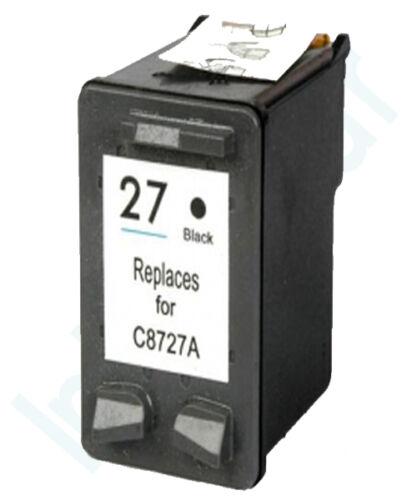 Non-OEM utilizzare per HP 27 Deskjet 3658 3668 3740 3743 Cartuccia di Inchiostro Nero