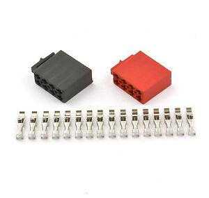 Montageset CAR HIFI Radio ISO Stecker für Autoradio Crimp ...