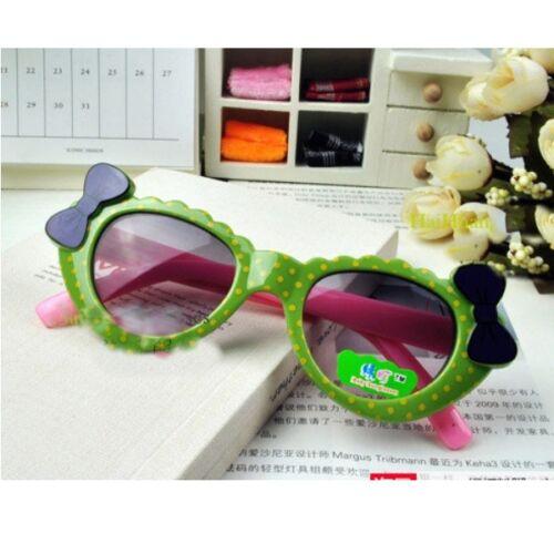 Unisex Children Kids ANTI-UV Sunglasses Baby Girl Boy Lovely Glasses Accessories
