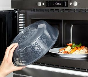 Image Is Loading Ikea Microwave Cover Splatter Screen Steam Release Lid