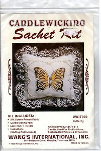 1983-Wangs-International-Candlewicking-Sachet-Kit-WKIT070-Butterfly-5-x-6