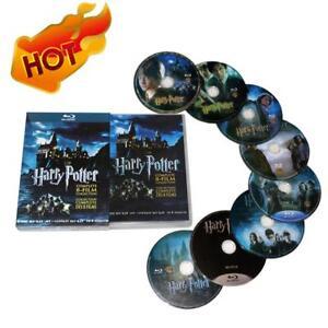 Harry-Potter-1-8-Movie-DVD-Complete-Collection-Films-DVD-2011-8-Disc-Box-Set-AU