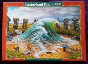 "Castorland Puzzle 2000 Pieces PRIVATE WAVE. 92x68cm/36""x27"