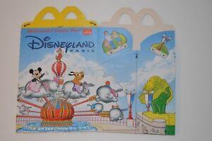 0080-McDonald-039-s-Happy-Meal-Box-empty-Dumbo-Ride-1996-Disneyland-McDonalds
