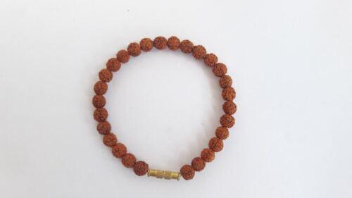 5 Mukhi Indonesia Rudraksha Bracelet For Unisex lucky best wish