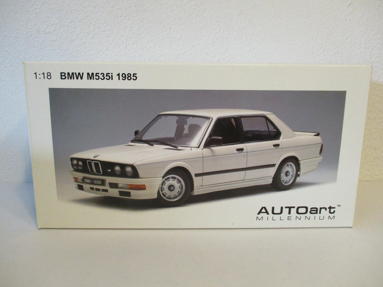 (Gol) 1 18 Autoart BMW M 535i 1985 Conversion NOUVEAU neuf dans sa boîte
