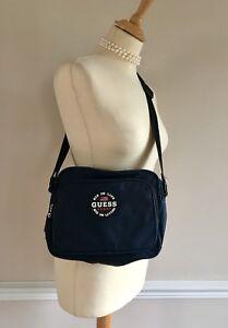 Guess-Sport-Blue-Nylon-Crossbody-Bag-Shoulder-Bag-Unisex-Man-Bag