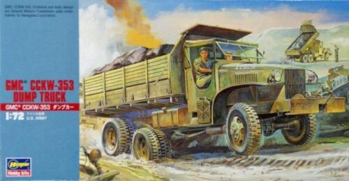 GMC CCKW U.S. ARMY marquage #MT22 1//72 Hasegawa 353 DUMP TRUCK