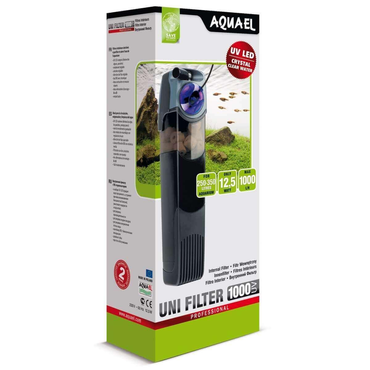 Aquael Unifilter UV 1000 Aquarium Innenfilter Filter Aquariumfilter UVfilter UVC