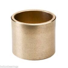 AM-253240 25 ID x 32 OD x 40 Long - Metric Bronze Plain Oilite Bearing Bush