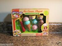 Pretend Food Play Set Ice Cream Redbox Velcro Food And Accessories
