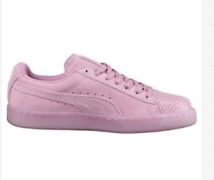 NIB PUMA Suede Jelly Womens Sneakers Size 6.5 in Prism Pink
