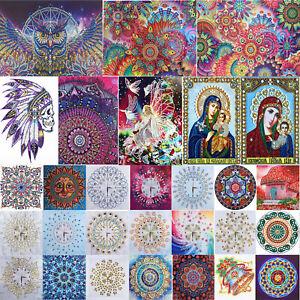 5D-Full-Part-Drill-DIY-Diamond-Painting-Embroidery-Cross-Crafts-Stitch-Kit-Decor