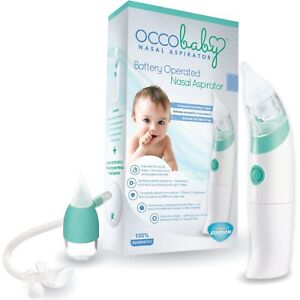Occobaby Baby Nasal Aspirator Baby Safety & Health Safe Hygienic And Quick Battery Operated 100% Original Baby