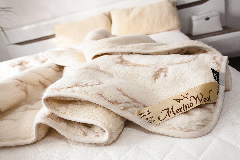Exclusif Merino Wool cougreenure 140 x 200 cm + oreiller 45 x 75 cm simple SET