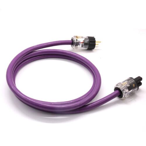 Hifi audio P-029E EU power plug C-029 IEC Female connector AC-313 OFC AC power