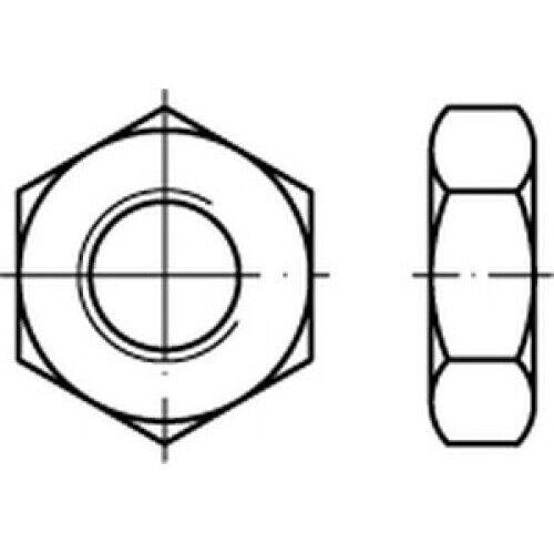 CAB FASTENING Sechskantmuttern niedrige Form DIN 936 14 H M 42 x 1,5