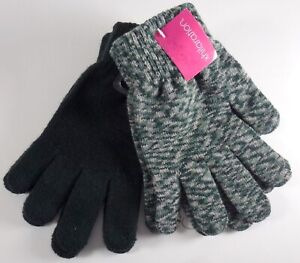 NWT-XHILARATION-UNISEX-KIDS-FASHION-DESIGNER-4-PAIRS-GLOVES-ONE-SIZE-M229
